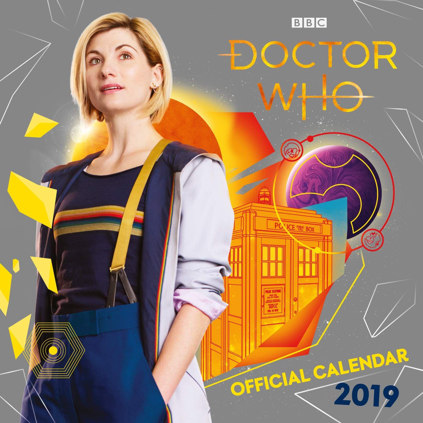 Стенен Календар Danilo 2019 - Doctor Who - 1