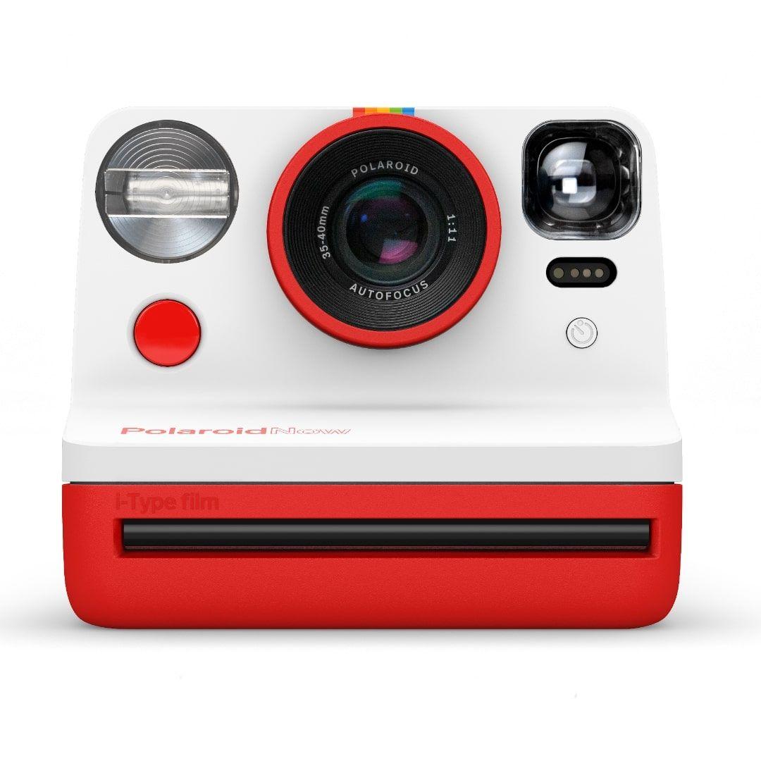 Моментален фотоапарат Polaroid - Now, червен - 1