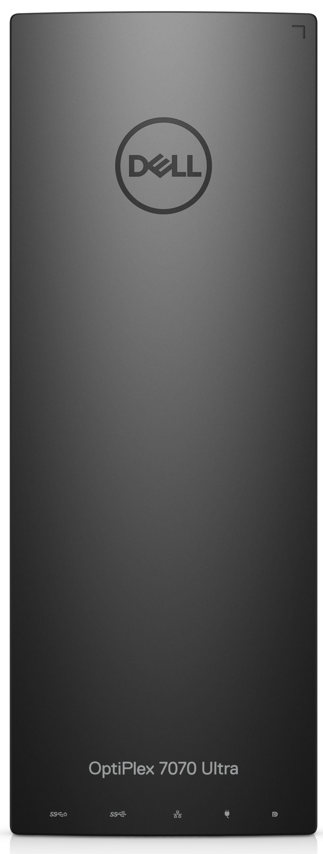 Настолен компютър Dell Optiplex - 7070 UFF, черен - 1