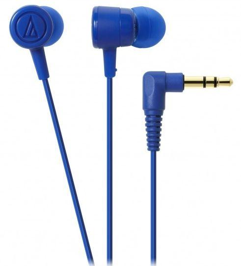 Слушалки Audio-Technica - ATH-CKL220, сини - 1