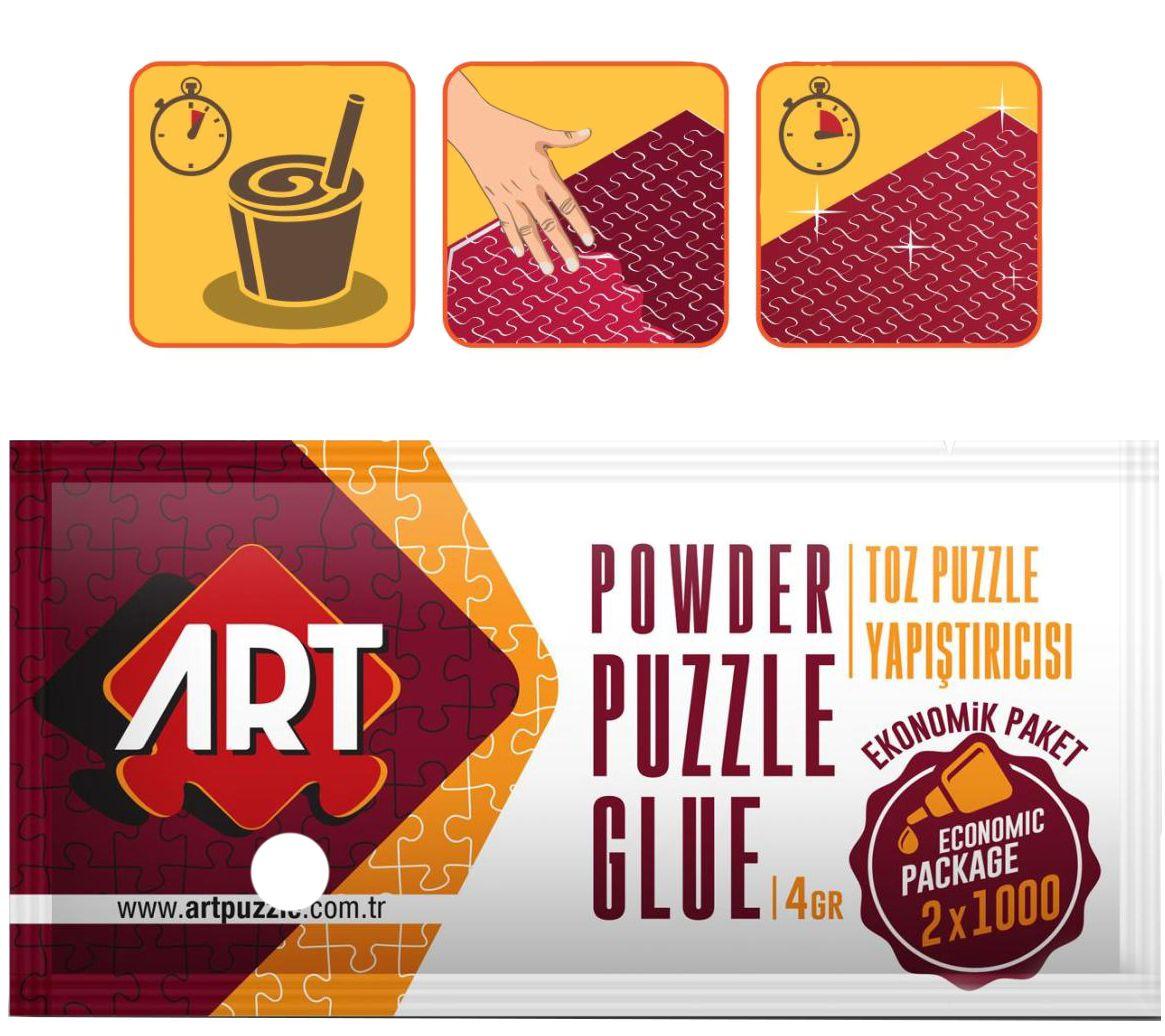 Лепило за пъзели на прах Art Puzzle - 4 g - 2
