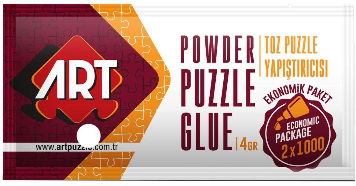 Лепило за пъзели на прах Art Puzzle - 4 g - 1