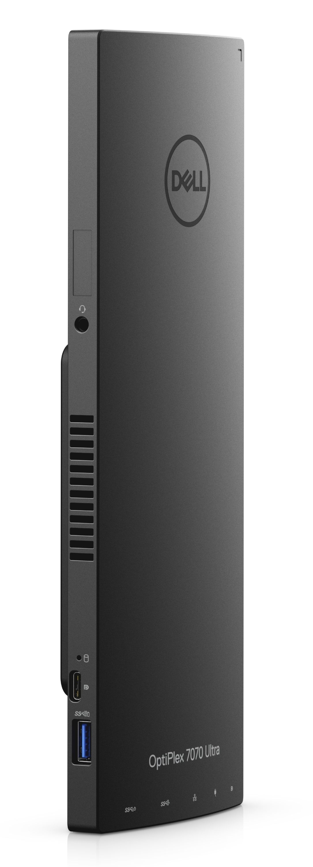 Настолен компютър Dell Optiplex - 7070 UFF, черен - 2