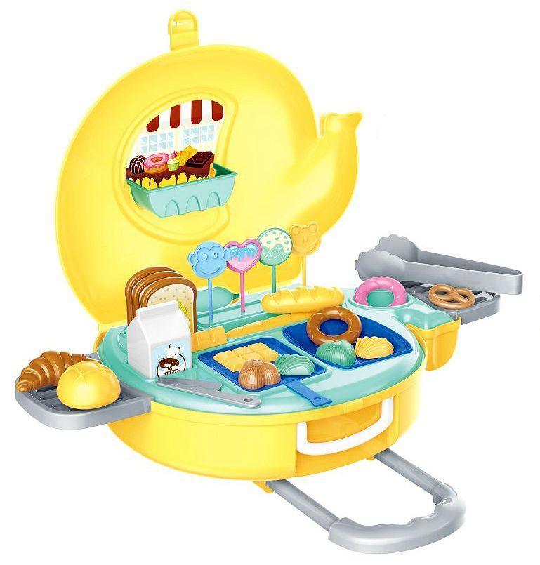 Игрален комплект Bowa - Пекарна Bakery в куфарче-слонче 32 части - 1