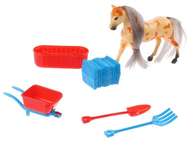 Игрален комплект Toi Toys - Конче с аксесоари, асортимент - 4