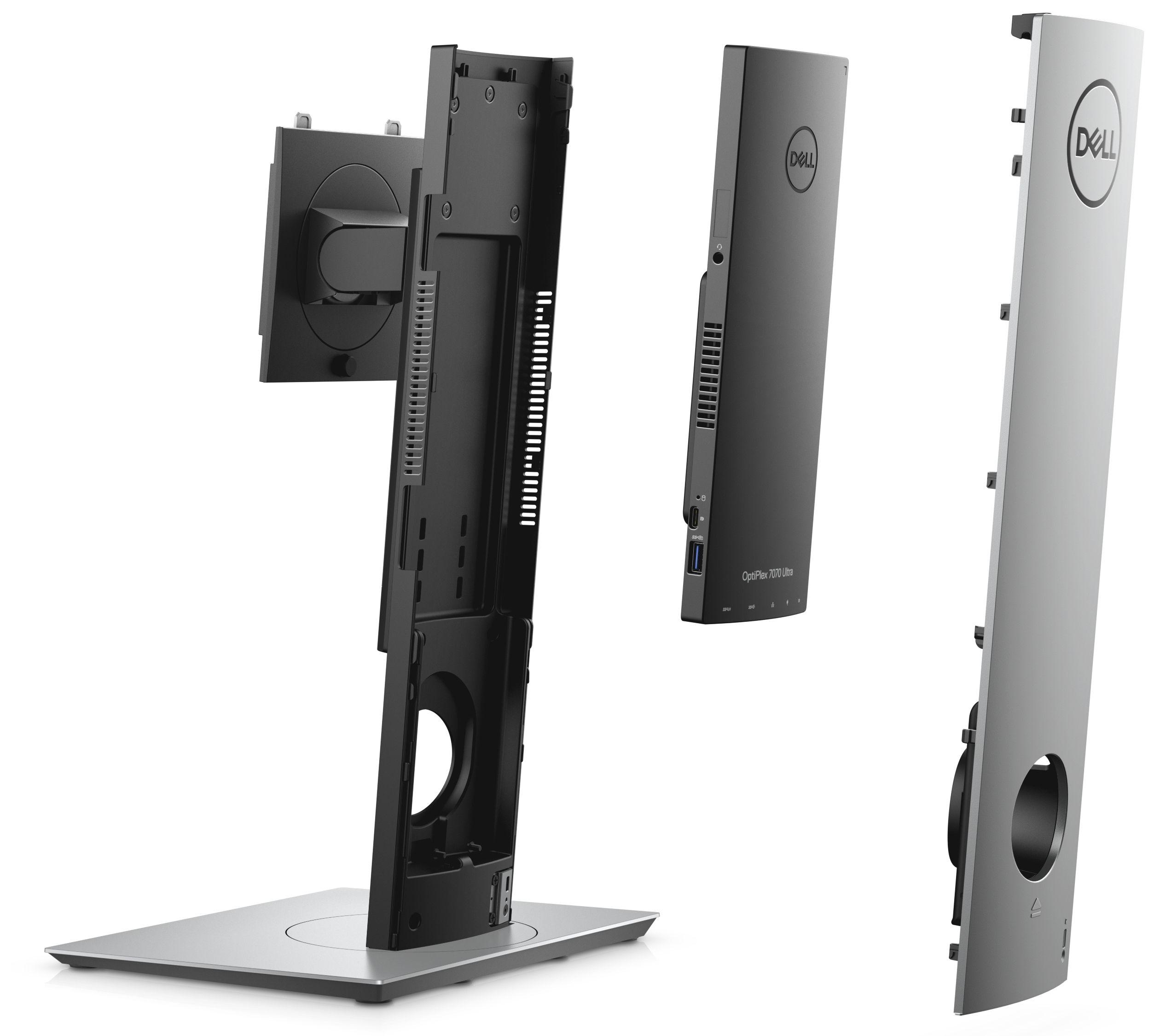 Настолен компютър Dell Optiplex - 7070 UFF, черен - 4