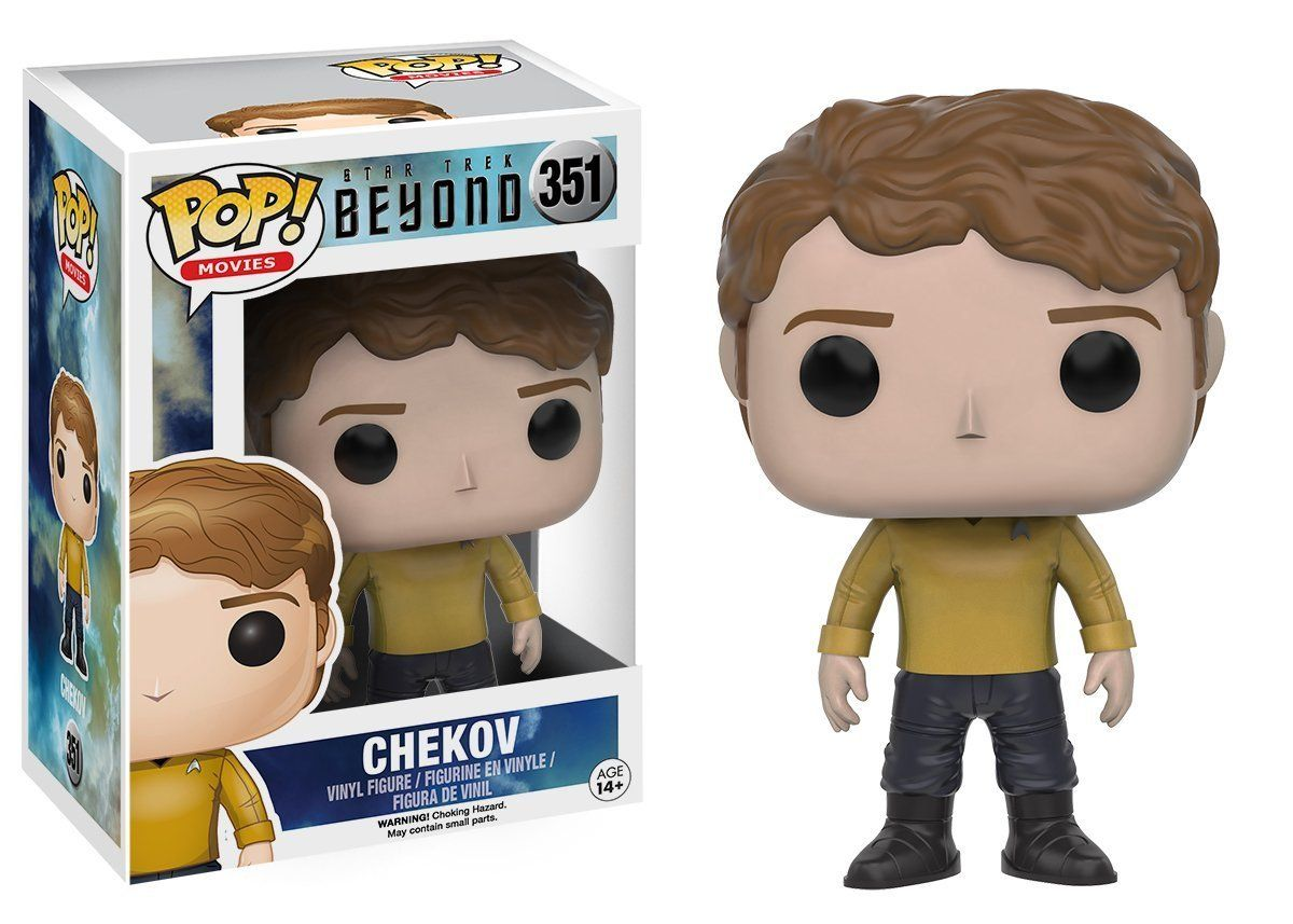 Фигура Funko Pop! Movies: Star Trek Beyond - Chekov, #351 - 2
