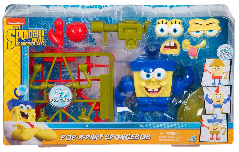 Игрален комплект Nickelodeon - Pop-a-Part Spongebob, 27 части - 1