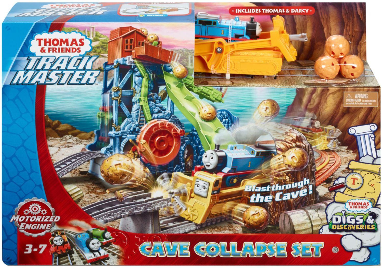 Игрален комплект Fisher Price Thomas & Friends - Пещерен срив - 6