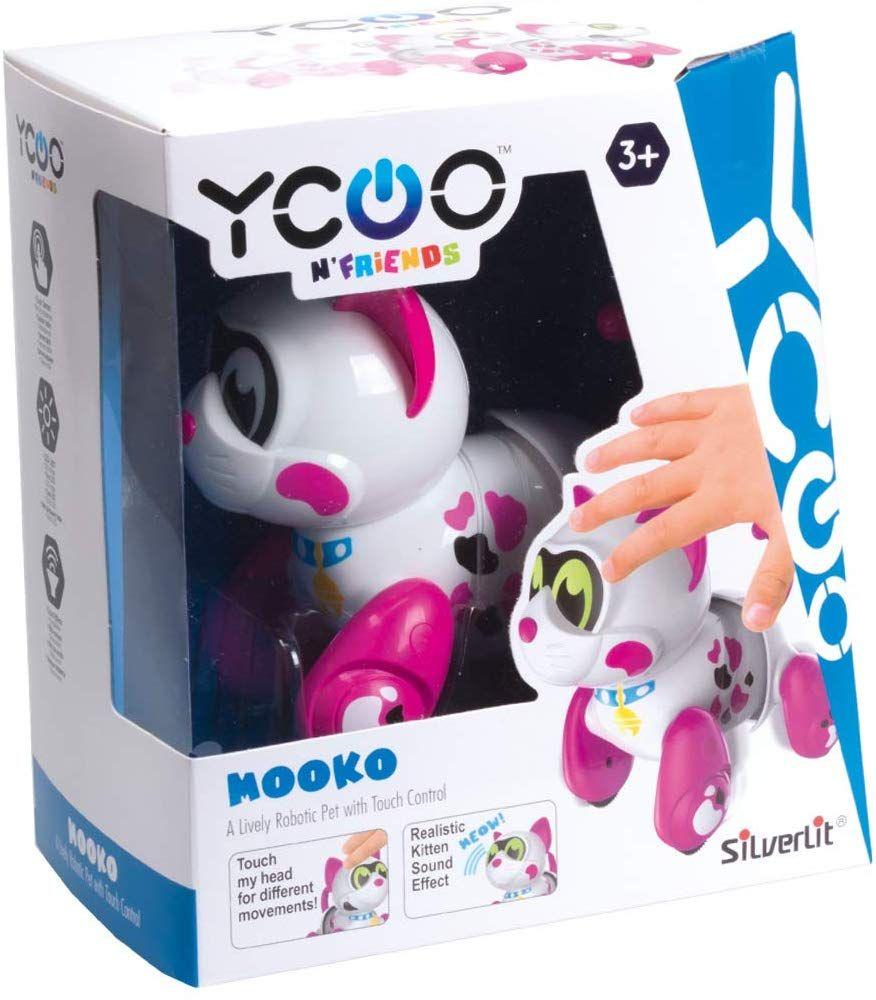 Интерактивна играчка Silverlit - Котенце Мооко - 1