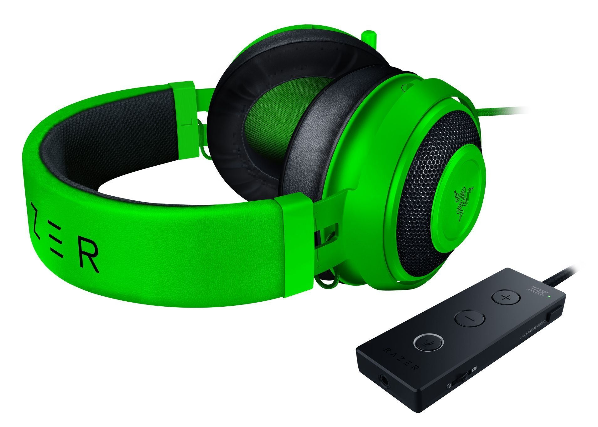 Гейминг слушалки Razer Kraken Tournament Edition - Green - 1
