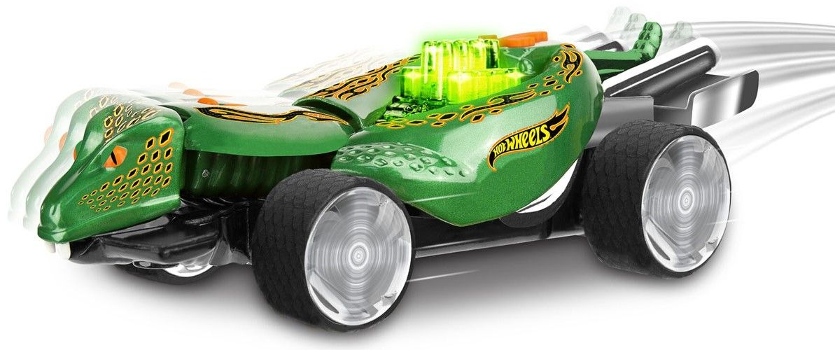 Детска играчка Toy State Hot Wheels - Кола Turboa, змия - 3