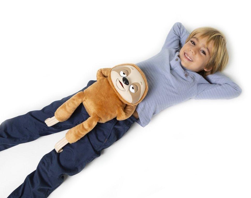 Интерактивна плюшена играчка IMC Toys - Ленивец Mr Slooou - 6
