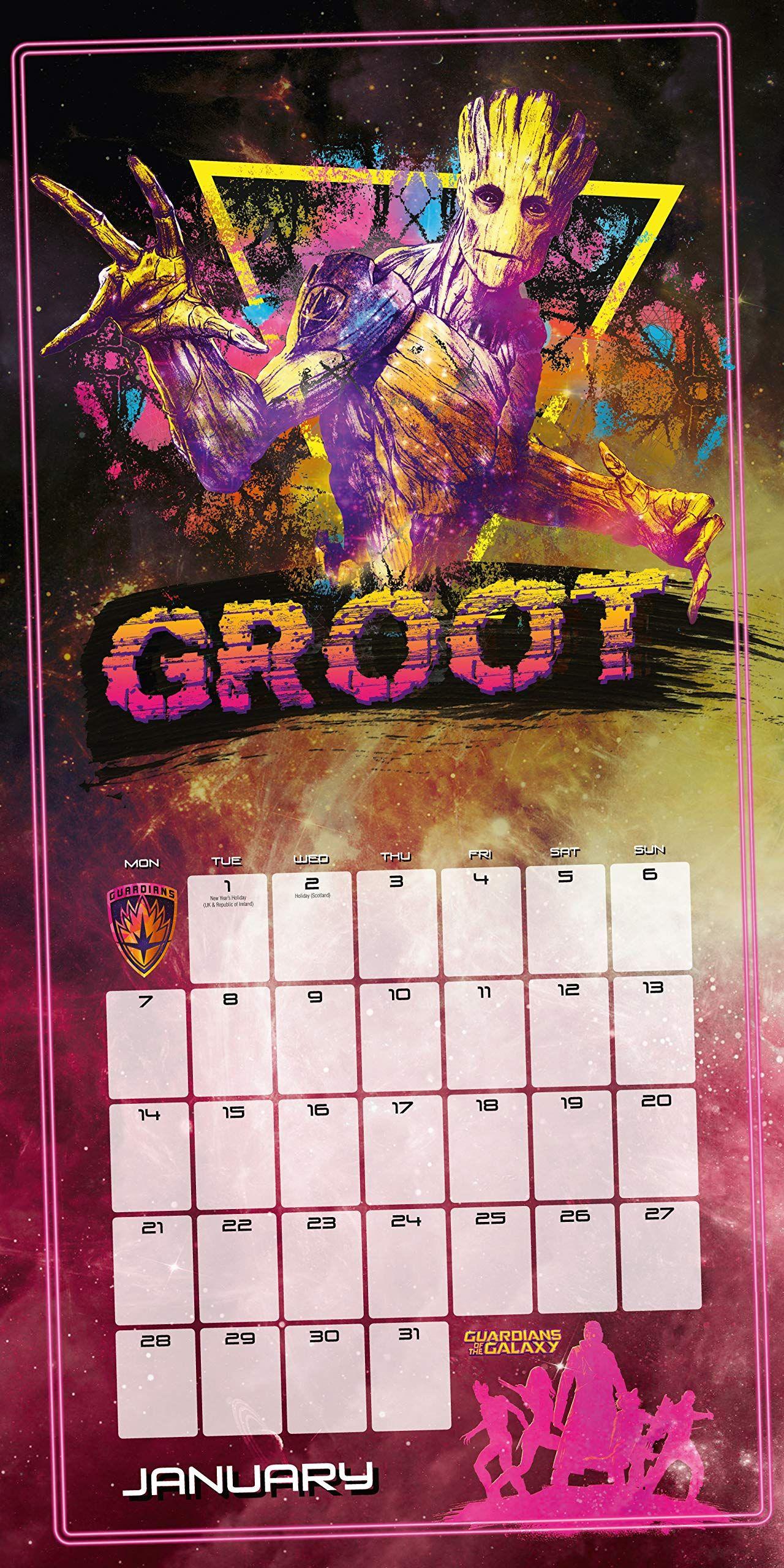 Стенен Календар Danilo 2019 - Guardians of the Galaxy - 3