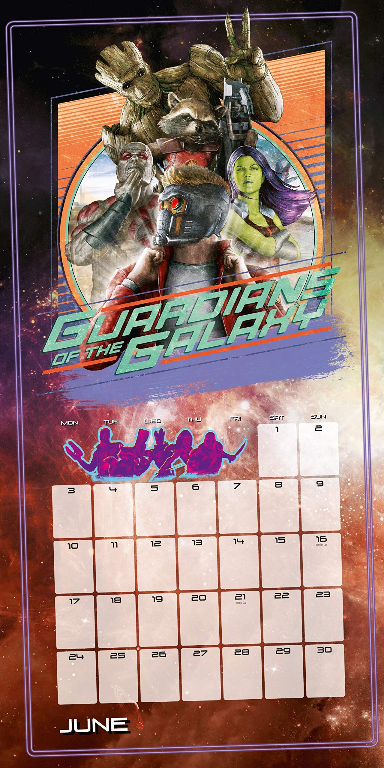 Стенен Календар Danilo 2019 - Guardians of the Galaxy - 2