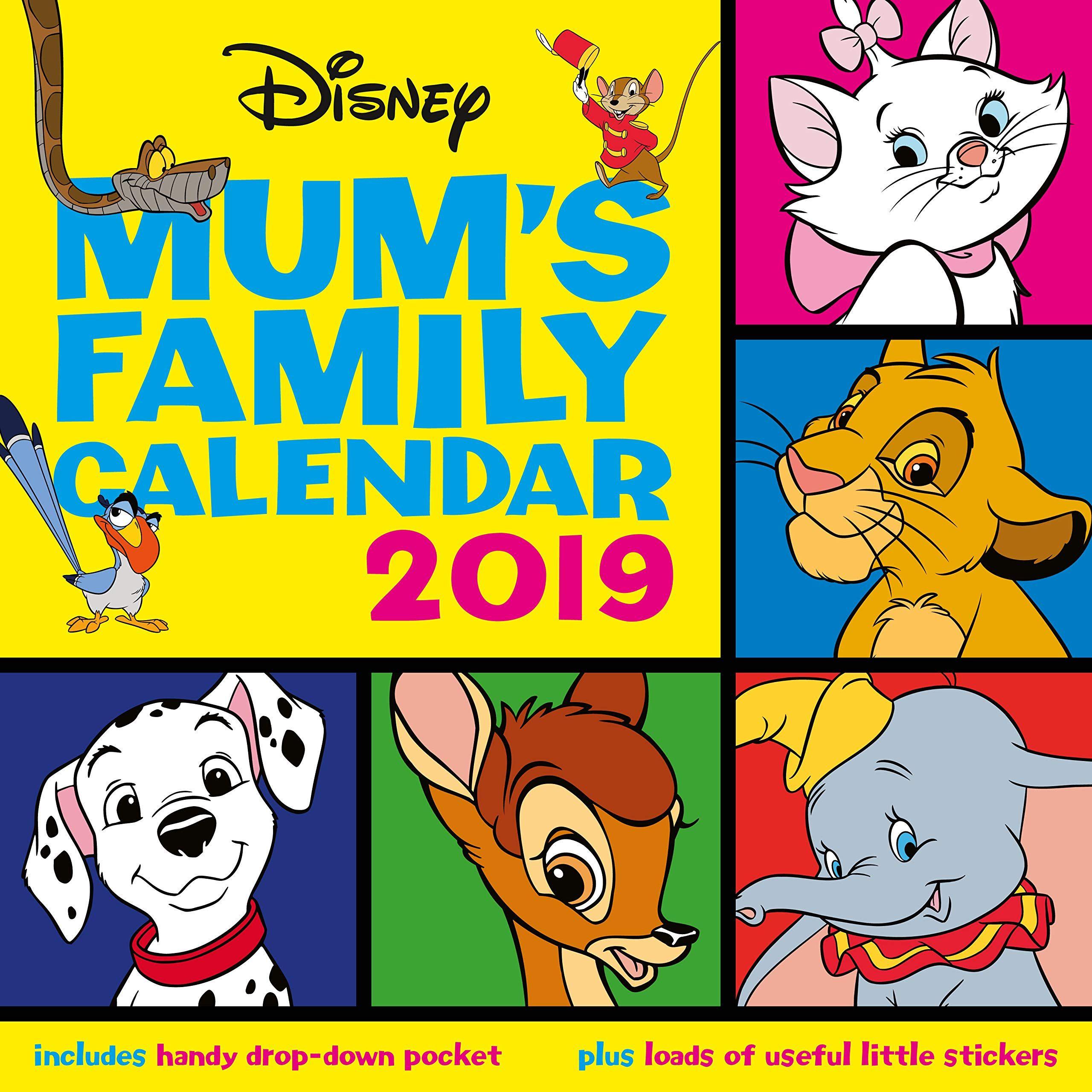 Стенен Календар Danilo 2019 - Disney Classic Moms Family - 1
