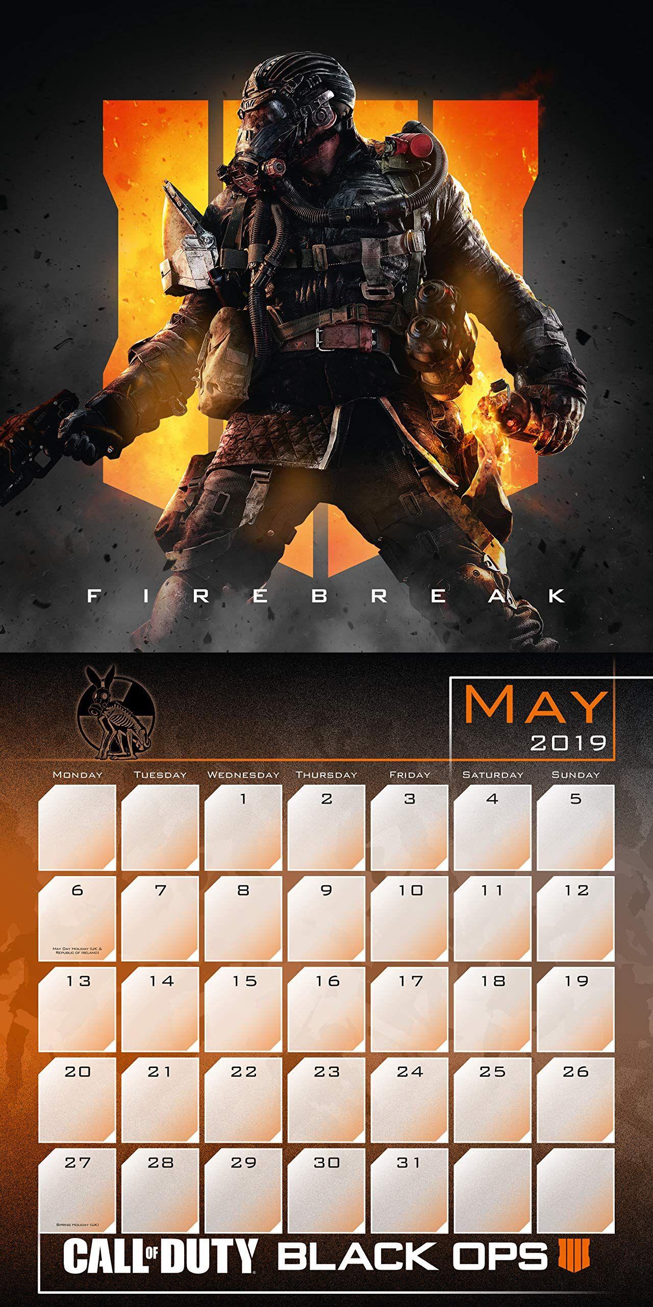 Стенен Календар Danilo 2019 - Call of Duty - 3