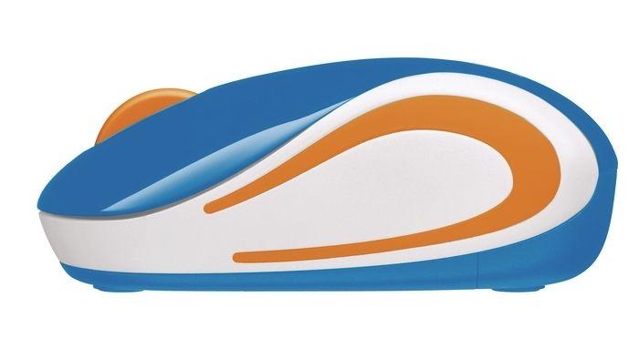 Logitech Wireless Mini Mouse M187 blue - 3