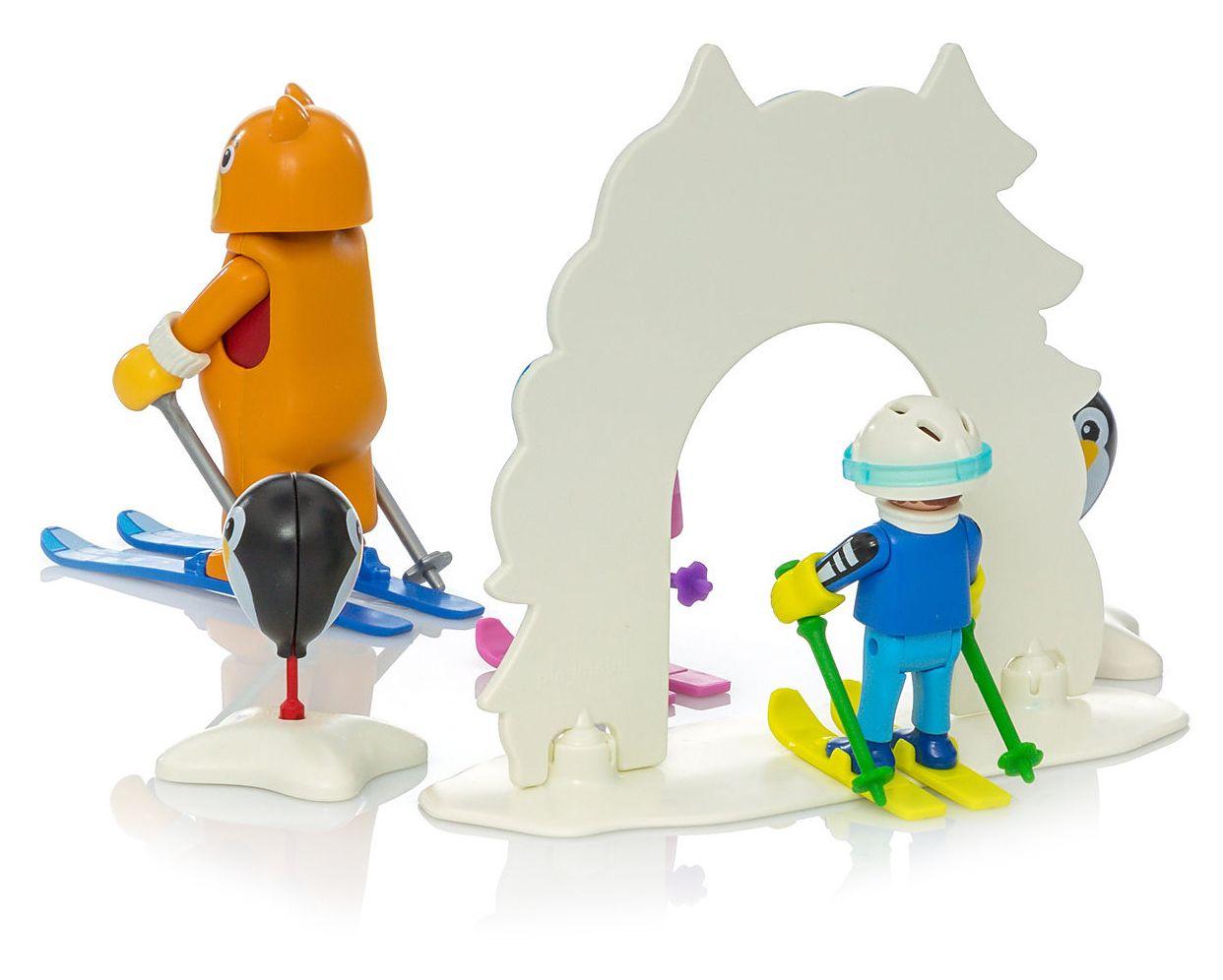 Комплект фигурки Playmobil - Ски урок - 5