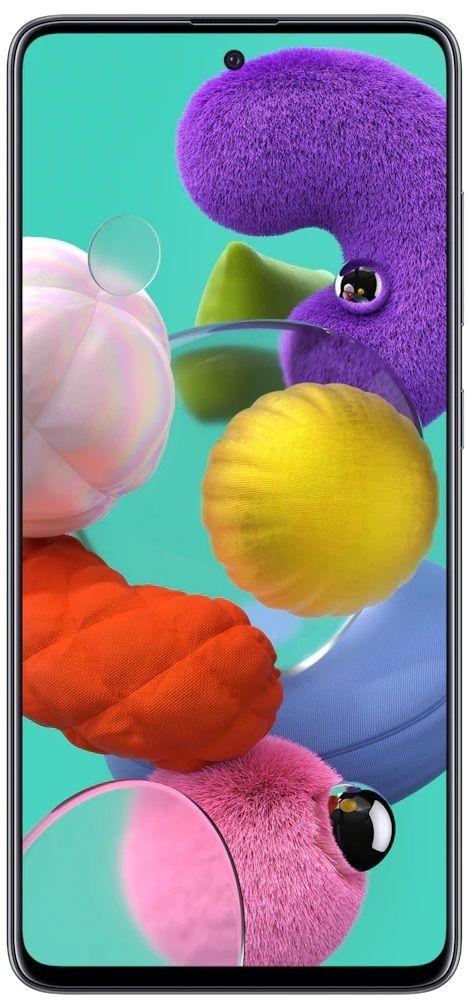 "Смартфон Samsung Galaxy A51 - 6.5"", 128GB, черен - 1"