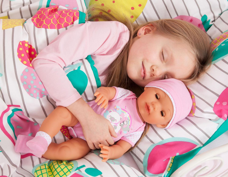 Пишкаща кукла Bayer Piccolina - Love, 42 cm - 5