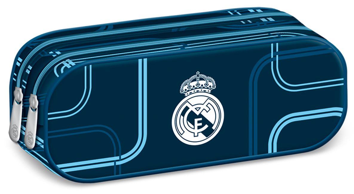 Ученически несесер с 2 ципа Ars Una – Дизайн FC Real Madrid, мек - 1