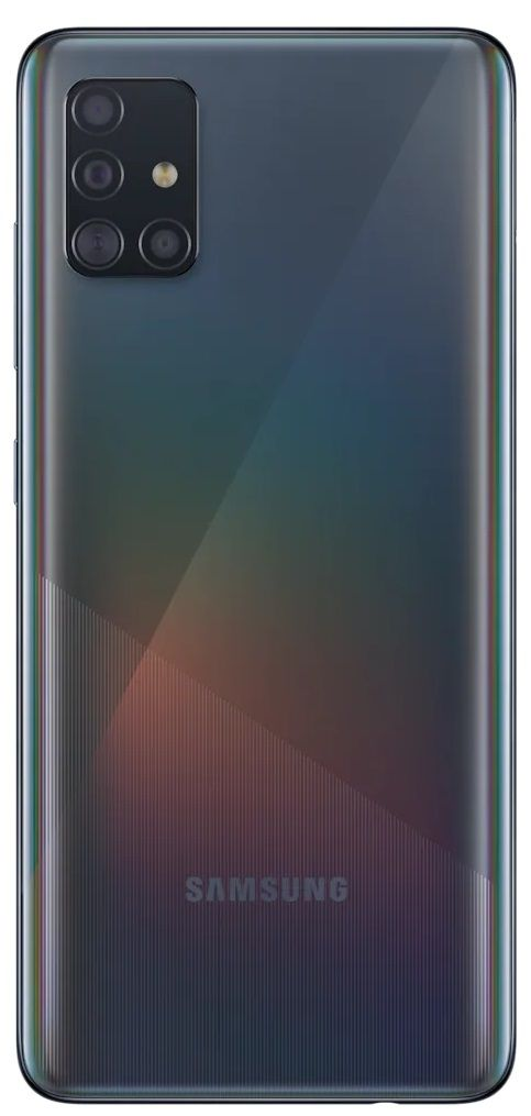 "Смартфон Samsung Galaxy A51 - 6.5"", 128GB, черен - 2"