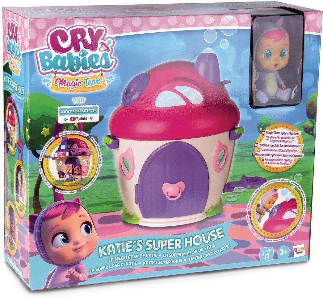 Комплект IMC Toys Cry Babies Magic Tears - Плачеща кукла Кейти с къщичка - 5