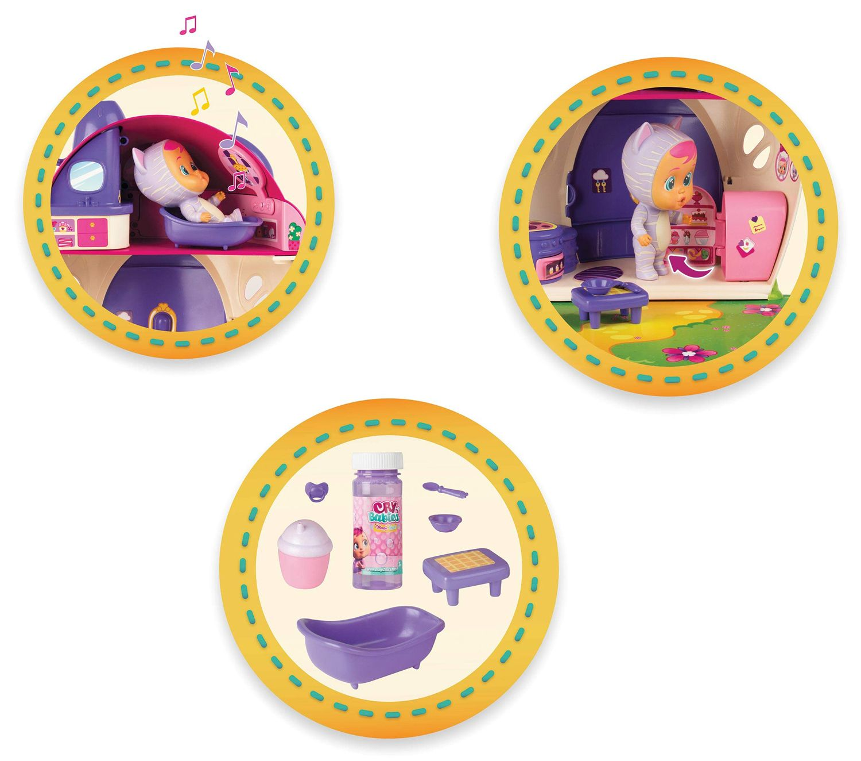 Комплект IMC Toys Cry Babies Magic Tears - Плачеща кукла Кейти с къщичка - 4