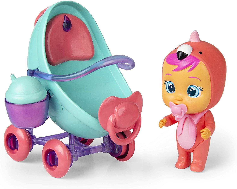Комплект IMC Toys Cry Babies Magic Tears - Плачеща кукла Фенси с количка - 2