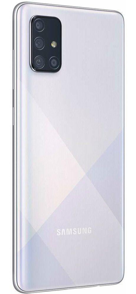 "Смартфон Samsung Galaxy A71 - 6.7"", 128GB, сребрист - 3"