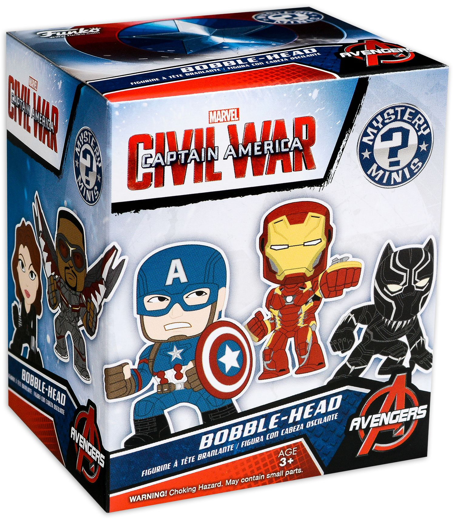 Мини Фигура Funko: Cap America 3: Civil War - Mystery Minis Blind Box - 2