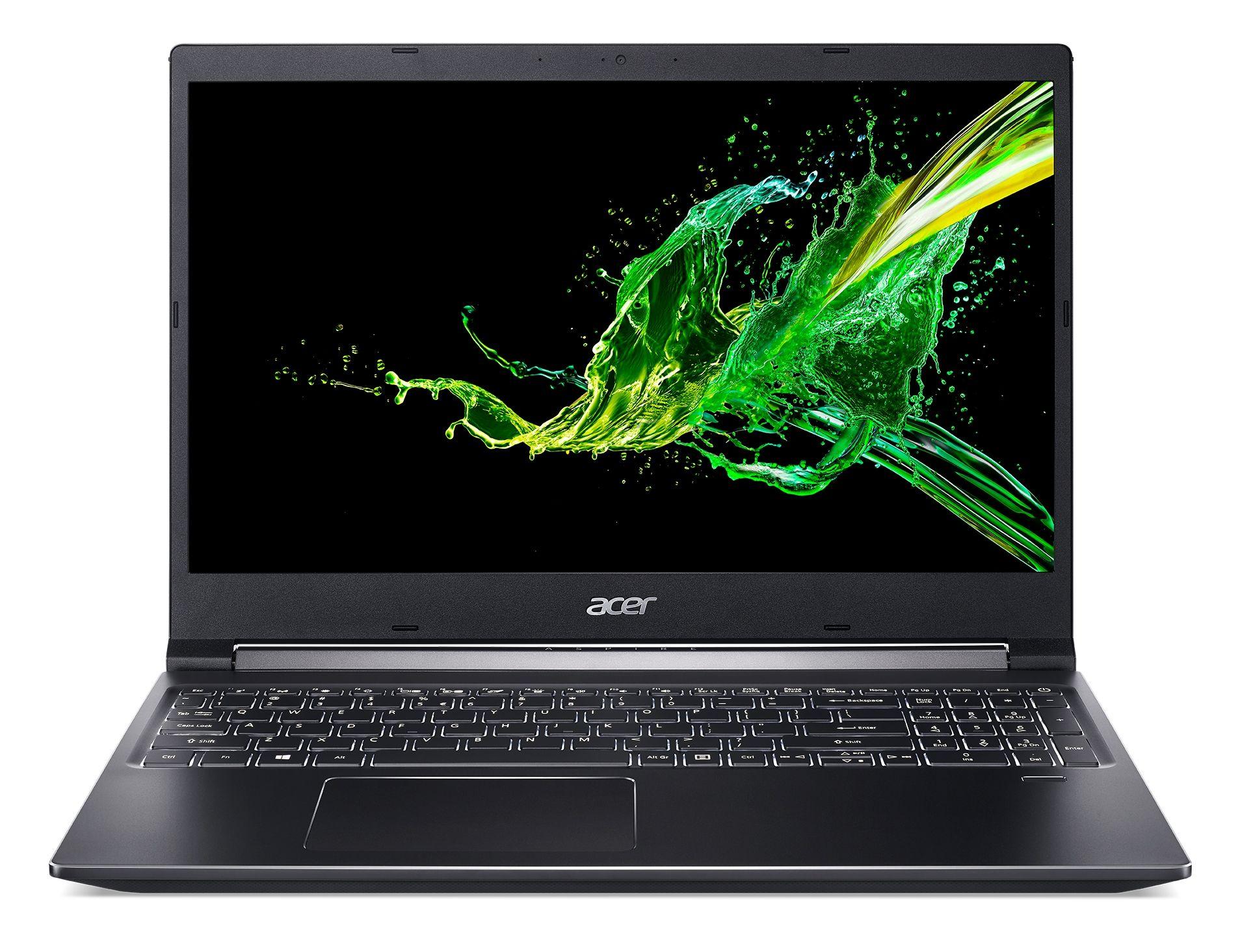 Лаптоп Acer Aspire 7 A715-74G-753C, черен - 1