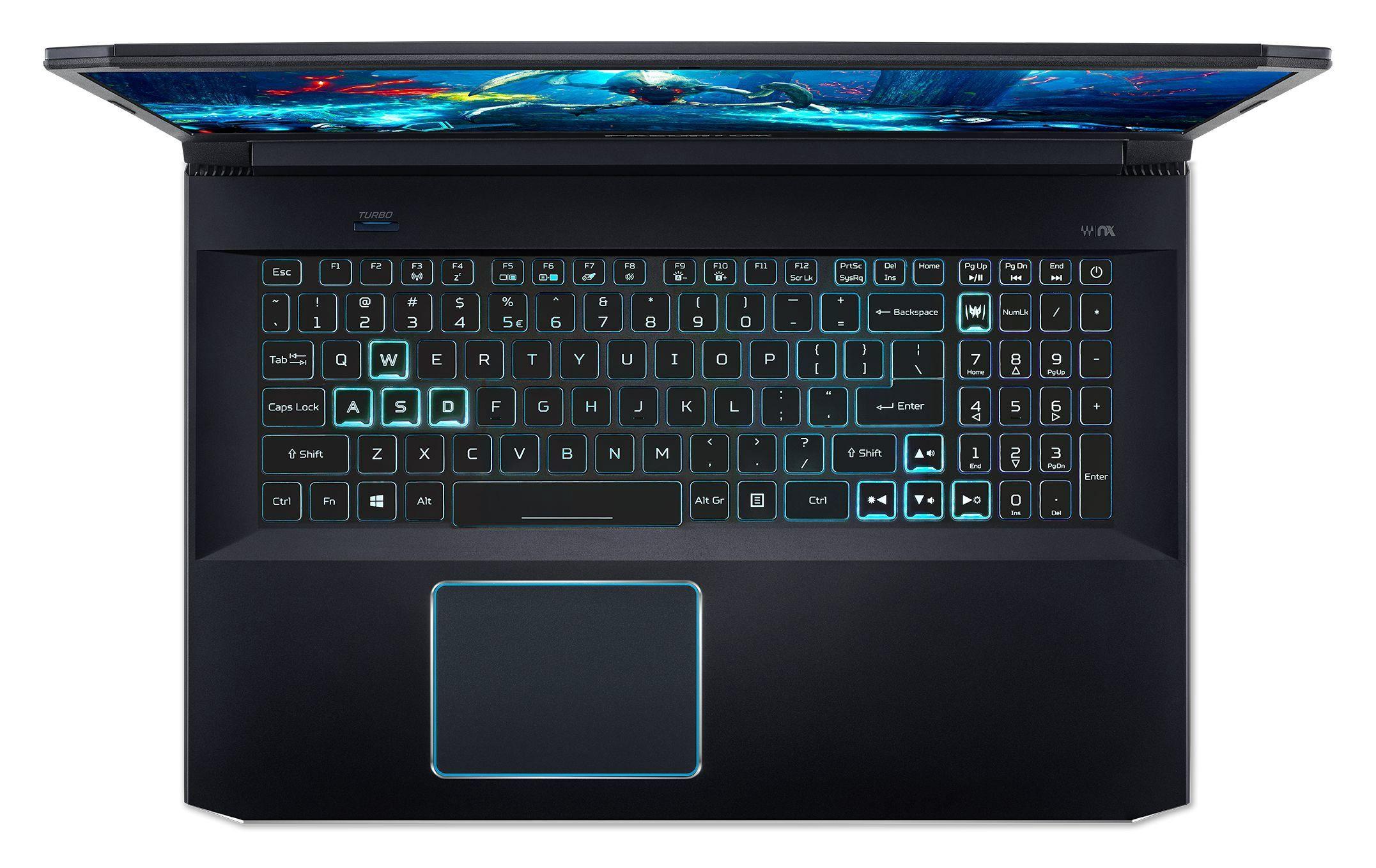 Лаптоп Acer Predator Helios 300 - PH317-53-768V, черен - 2