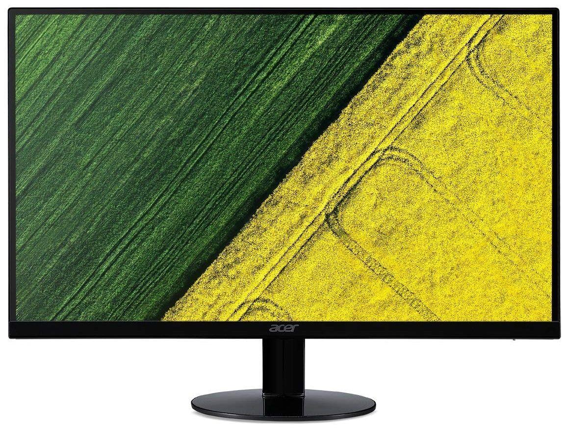 """Монитор Acer - SA220QAbi, 21.5"""", FHD, IPS, 4ms, черен - 1"""