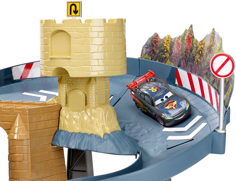 Игрален комплект за двубой Cars - Двойна лента - 4
