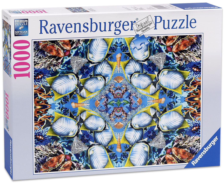 Пъзел Ravensburger от 1000 части - Океански калейдоскоп - 1