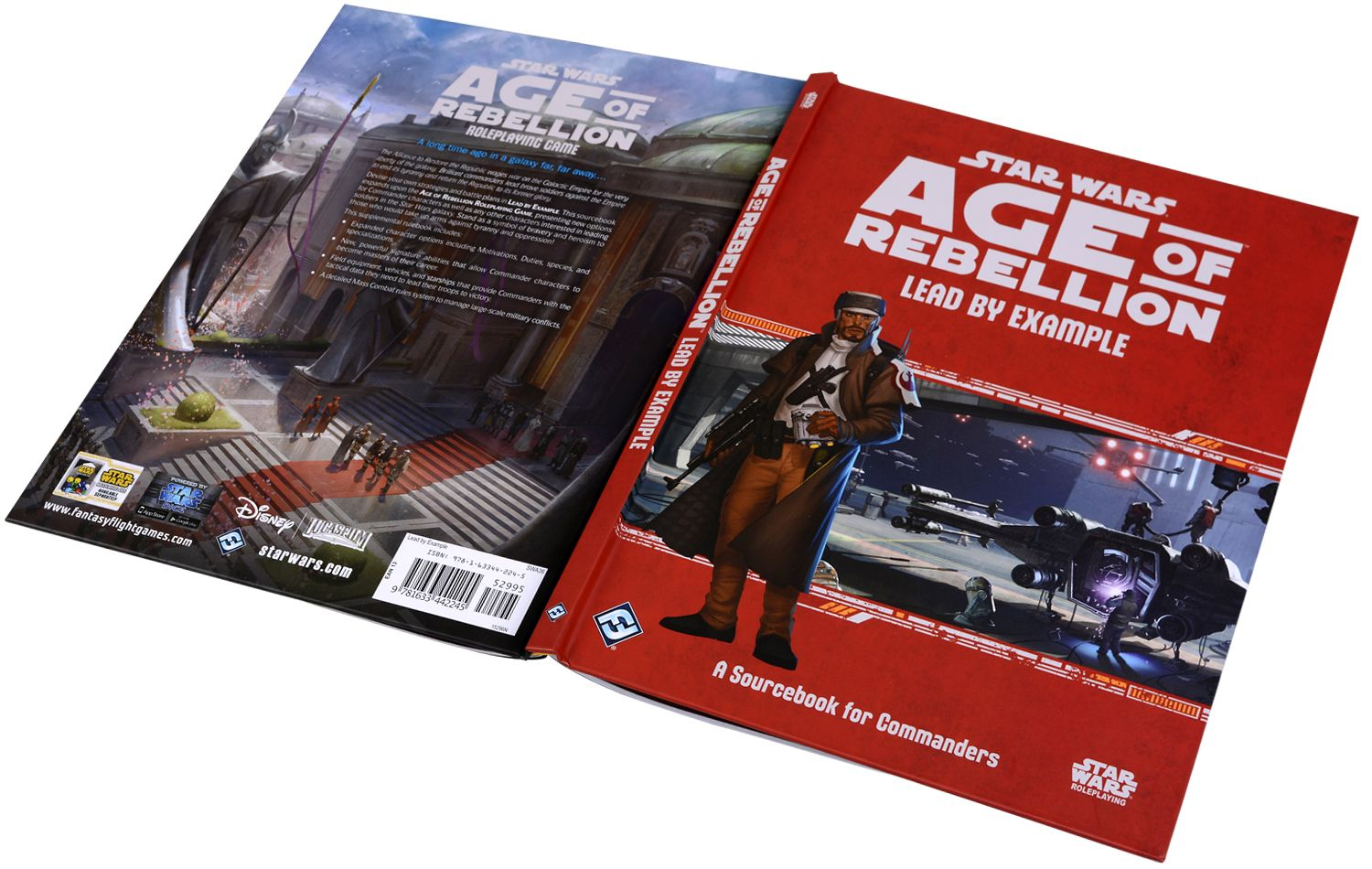 Допълнение за ролева игра Star Wars: Age of Rebellion - Lead by Example: A Sourcebook for Commanders - 2