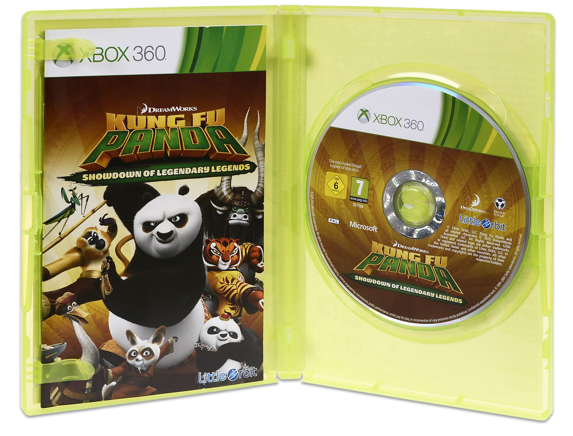 Kung Fu Panda: Showdown of Legendary Legends (Xbox 360) - (Преоценен) - 2