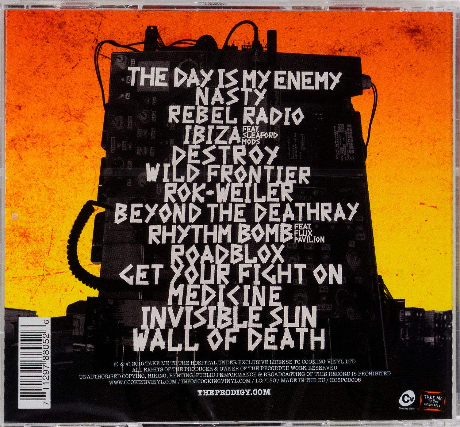 The Prodigy - The Day Is My Enemy (CD) - 1