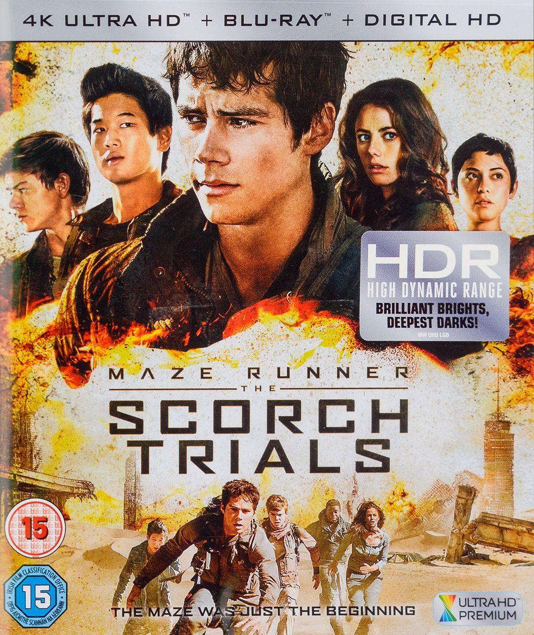 Maze Runner: Scorch Trials 4K (Blu-Ray) - 1