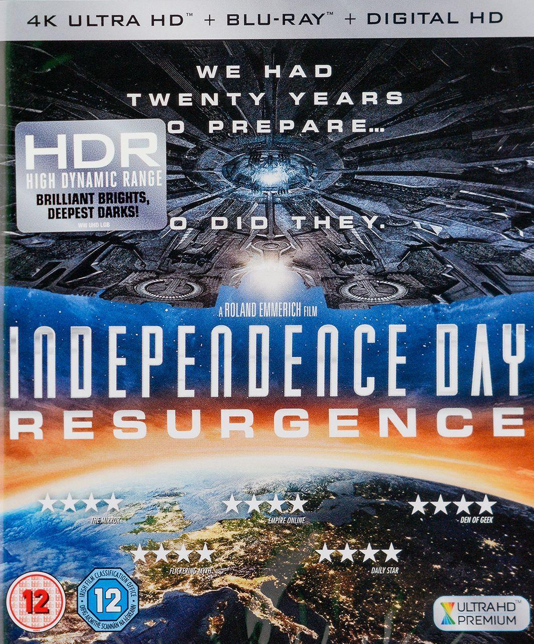 Independence Day: Resurgence 4K (Blu Ray) - 1