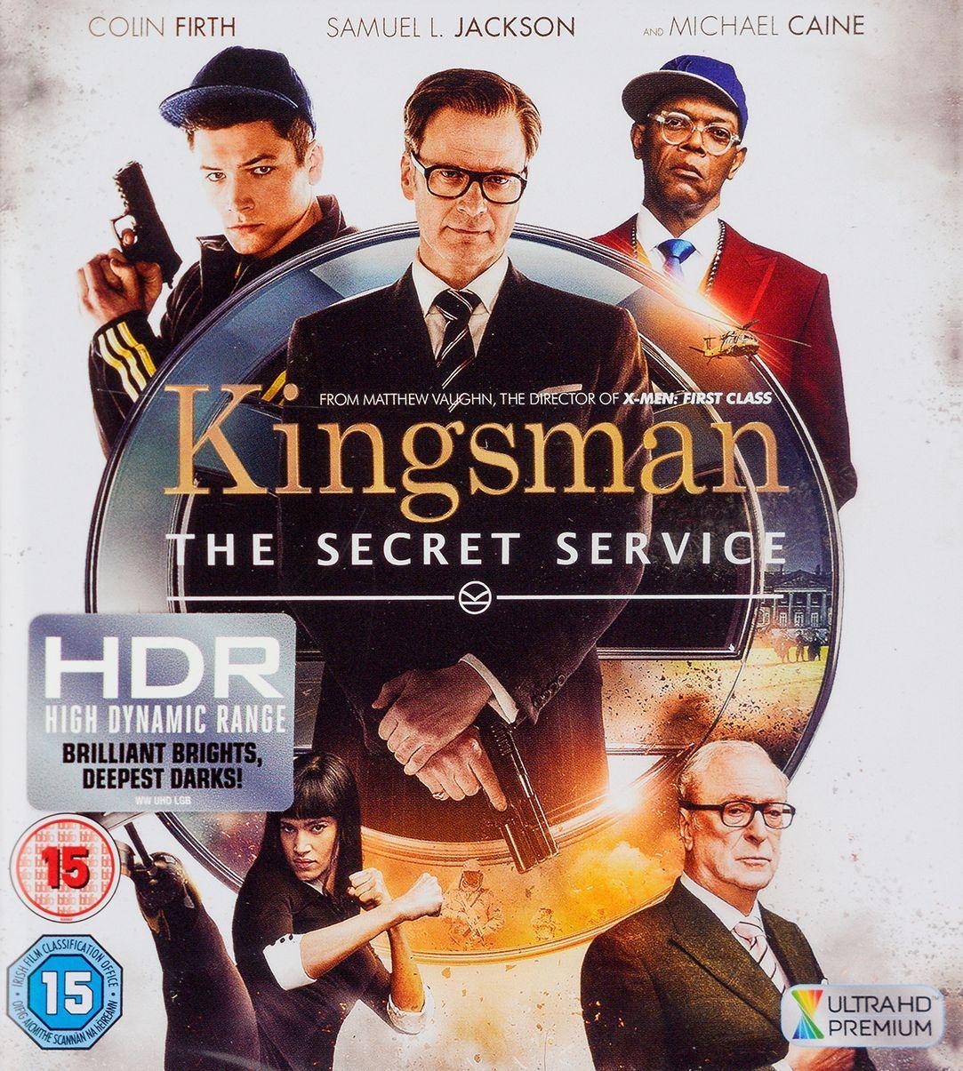 Kingsman: The Secret Service 4K (Blu Ray) - 1