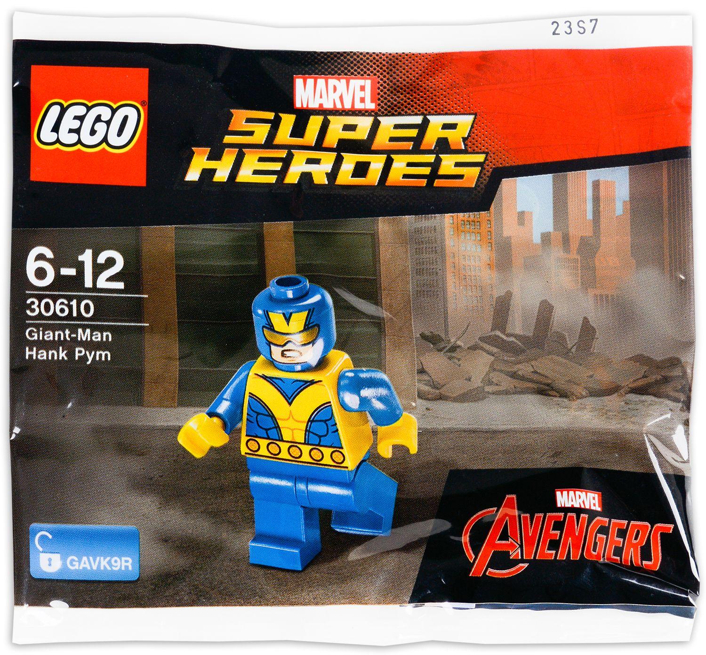 Сглобяема фигура Lego Super Heroes - Giant-Man, Hank Pym (30610) - 1