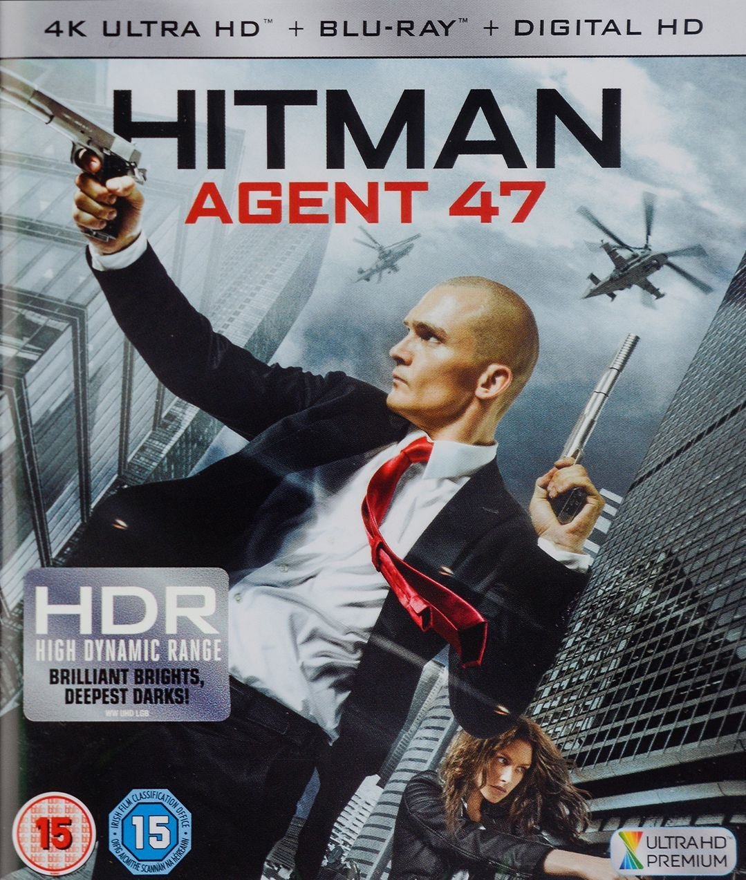 Hitman Agent 47 4K (Blu Ray) - 1