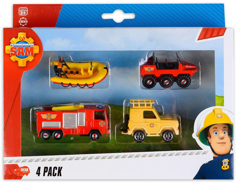 Игрален комплект Dickie Toys - Пожарникарят Сам (асортимент) - 1