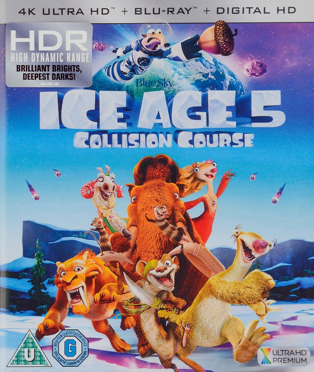 Ice Age 5: Collision Course 4K (Blu Ray) - 1