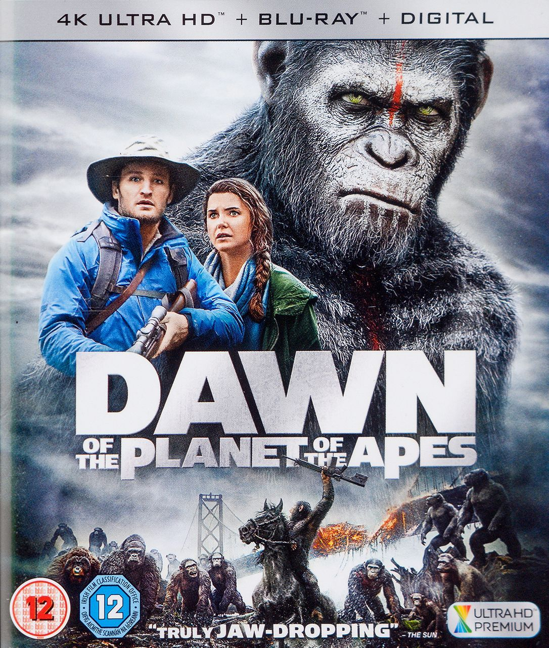 Dawn Of The Planet Of The Apes 4K (Blu Ray) - 1