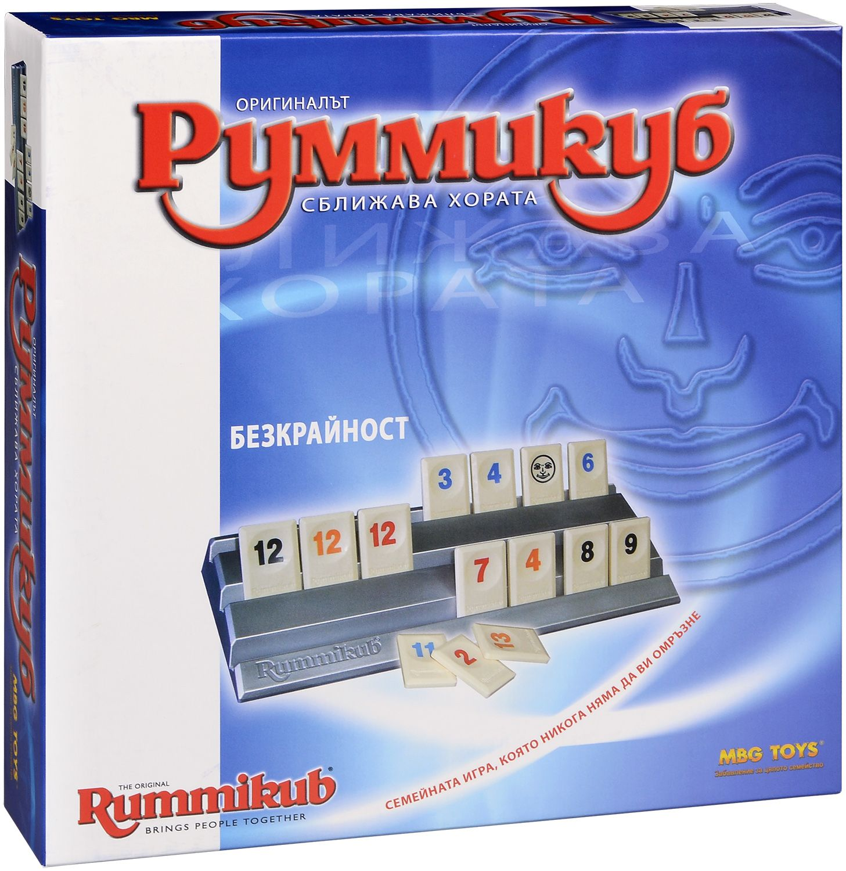 Настолна игра MBG Toys - Руммикуб, Безкрайност - 1