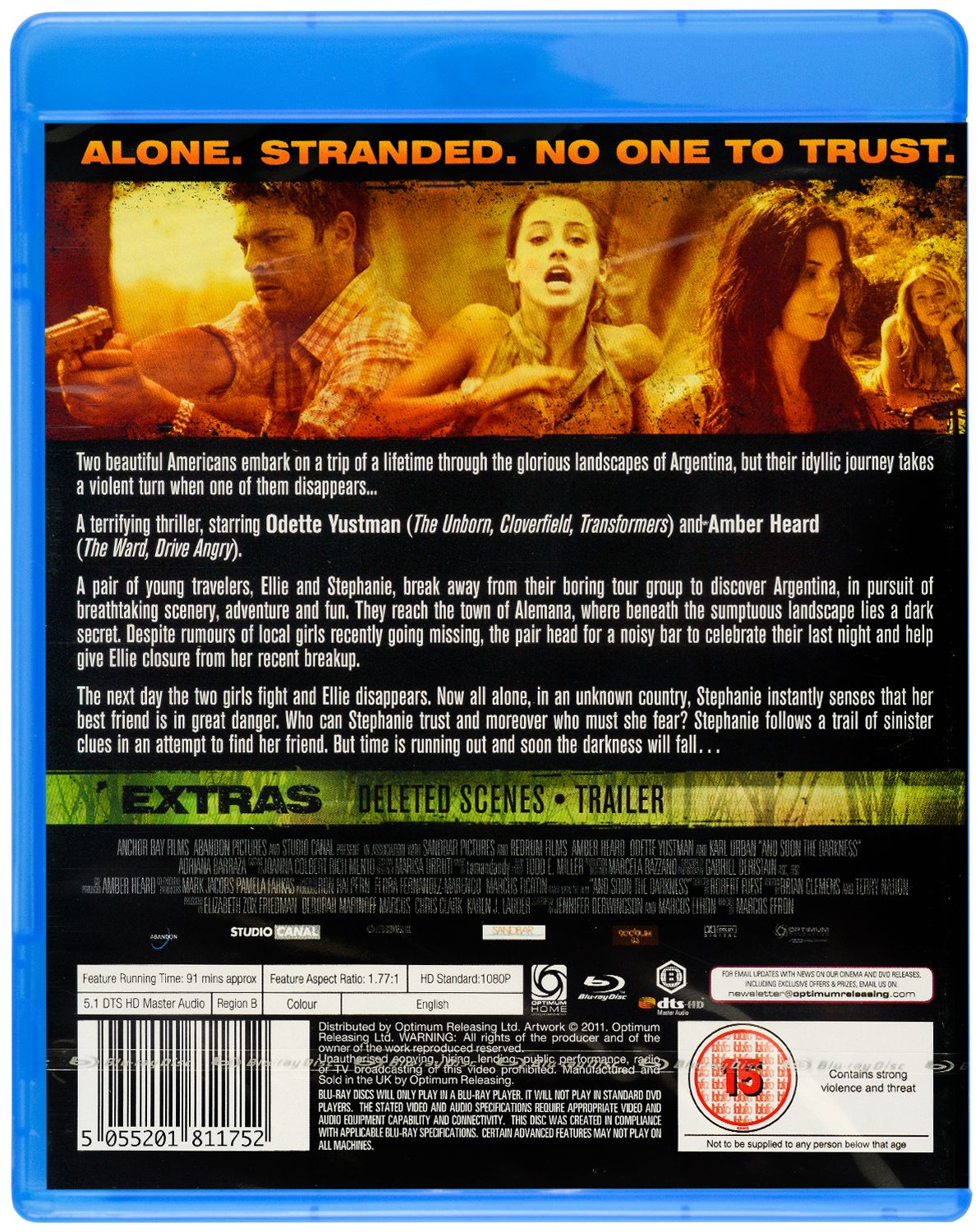 And Soon The Darkness (Blu Ray) - 2